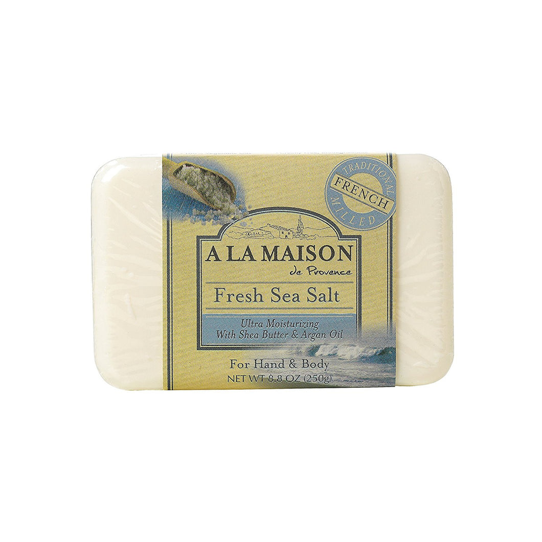 A La Maison - Traditional French Milled Bar Soap Fresh Sea Salt