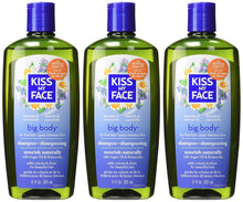 Kiss My Face Big Body Shampoo, adds volume and shine, 11-Ounce Bottles (pack of 3)