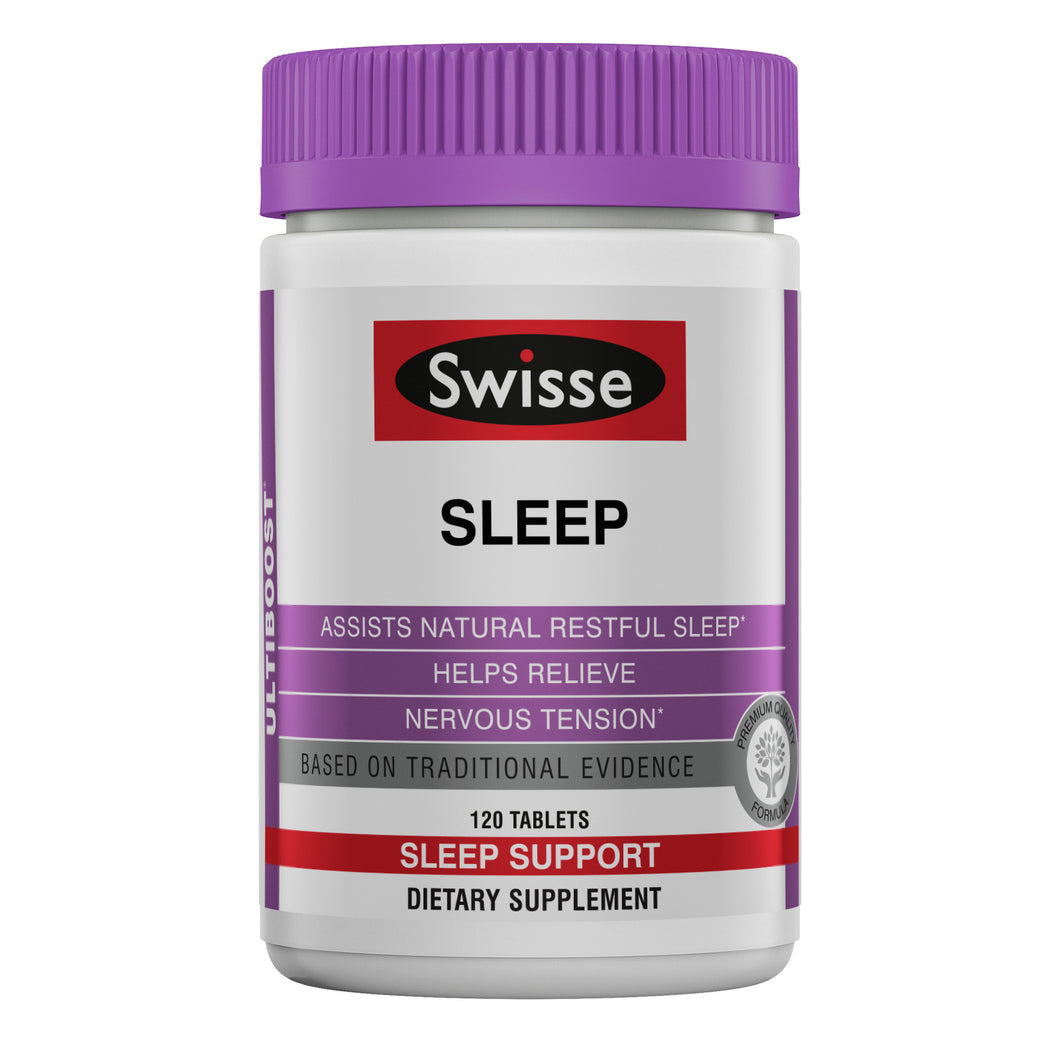 SWISSE ULTIBOOST SLEEP 120 TABS