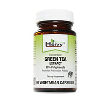 Heivy Green Tea Extract with 90% Polyphenols - Antioxidant & Fat burner - Boost Metabolism - Support Immune Function & Cardiovascular Health - 60 Veg Caps