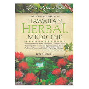 Book cover shows native Hawaiian plants used in traditional medicine.