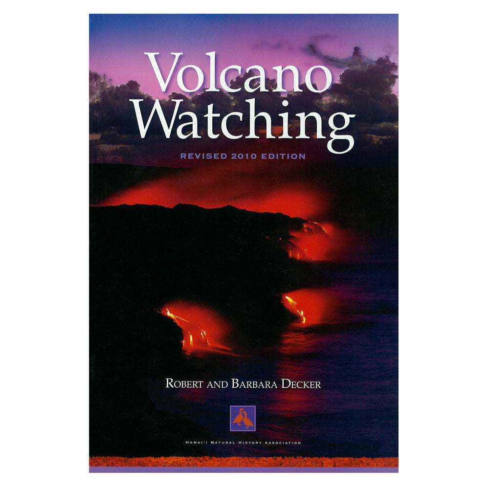 Book cover shows a red and black scene of lava from Kīlauea volcano running and dripping.