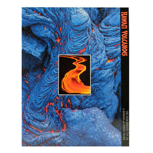 Cover image shows both cooling blueblack pahoehoe lava and an inset of a red river of lava from Kīlauea volcano.