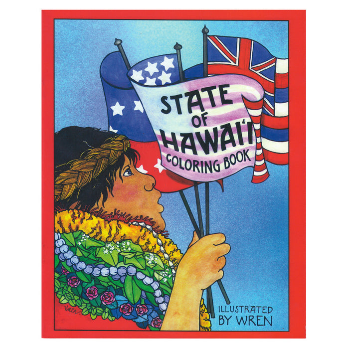 State of Hawai'i - Coloring Book