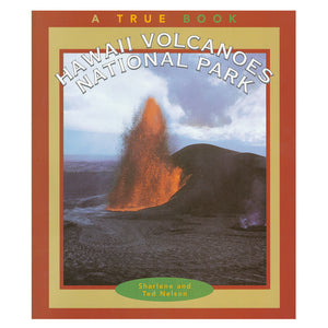 Book cover shows a photo of the 1959 eruption of Kīluea Iki taken during the fountaining phase.