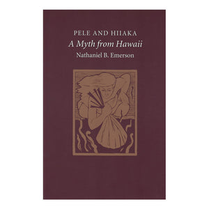 Book cover is an art print of a Hawaiian carrying a bag, referencing something in the story.