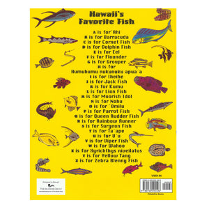 Hawaiʻi's Favorite Fish Coloring Book