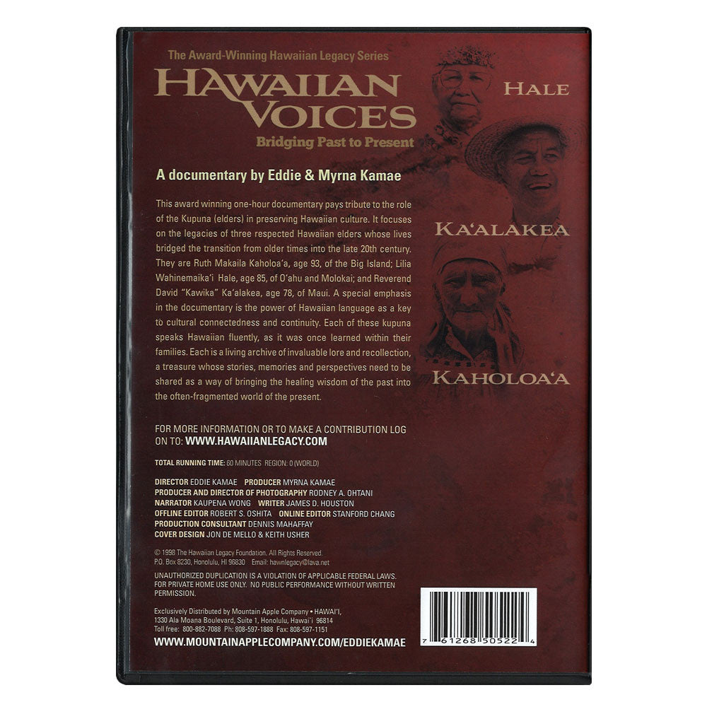 DVD: Hawaiian Voices