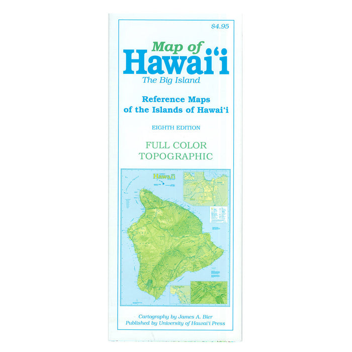 Map: Reference Map of the Islands of Hawai'i: Ninth Edition