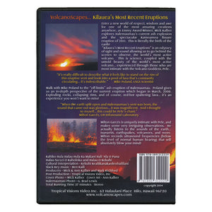 DVD: VolcanoScapes - Kilauea's Most Recent Eruptions