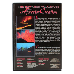 DVD: The Hawaiian Volcanoes - A Force for Creation