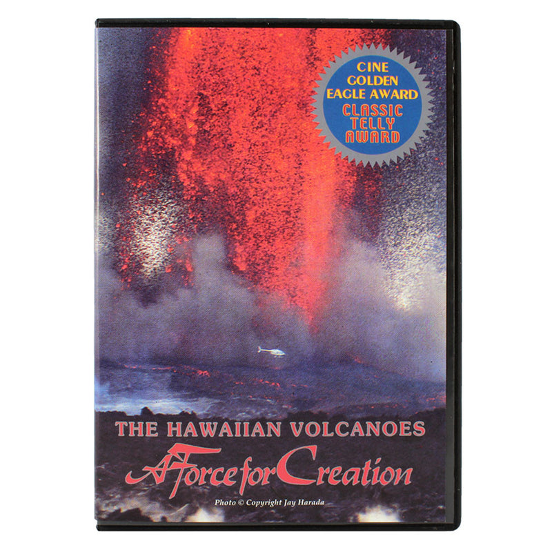 The cover is a photo of an enourmous lava fountain from Kīlauea.