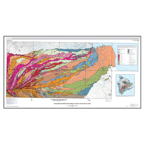 Map: Geologic Map of the Northeast Flank of Mauna Loa Volcano