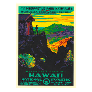Notecard Set: WPA Haleakalā National Park