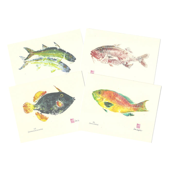 Notecard Set: Indigenous Fish of Hawaiʻi Peahi