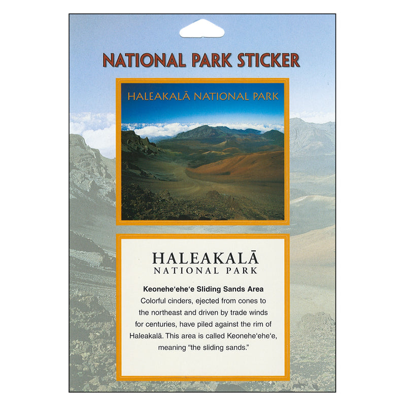 Haleakalā National Park (Keoneheʻeheʻe) Passport Sticker