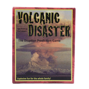 Cover shows a large plume of ash rising from a volcanic eruption.