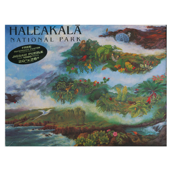 Puzzle: Haleakalā National Park Ecosystems