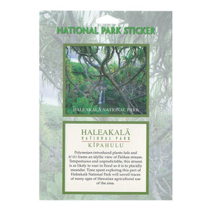 Sticker: Haleakalā National Park Hala and Kī