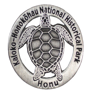Lapel Pin: Kaloko-Honokōhau National Historical Park (Honu)