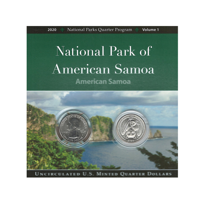 American Samoa U.S. Minted Quarter Dollar Collection
