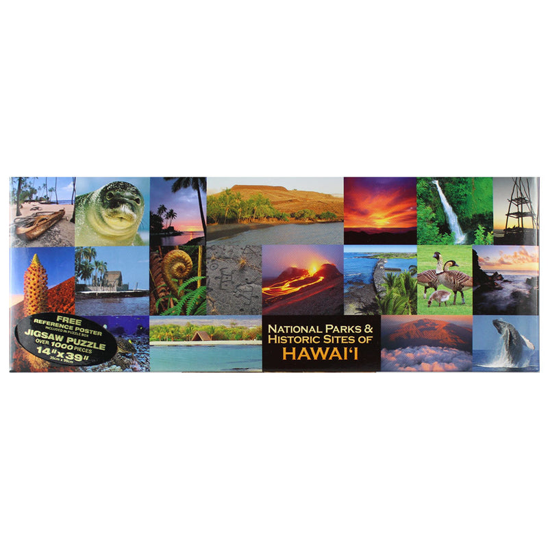 Puzzle: National Parks and Historic Sites of Hawai'i