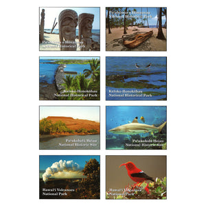 Sticker Set: National Parks and Historic Sites of Hawaiʻi