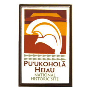 Lapel Pin: Puʻukoholā Heiau National Historic Site Logo