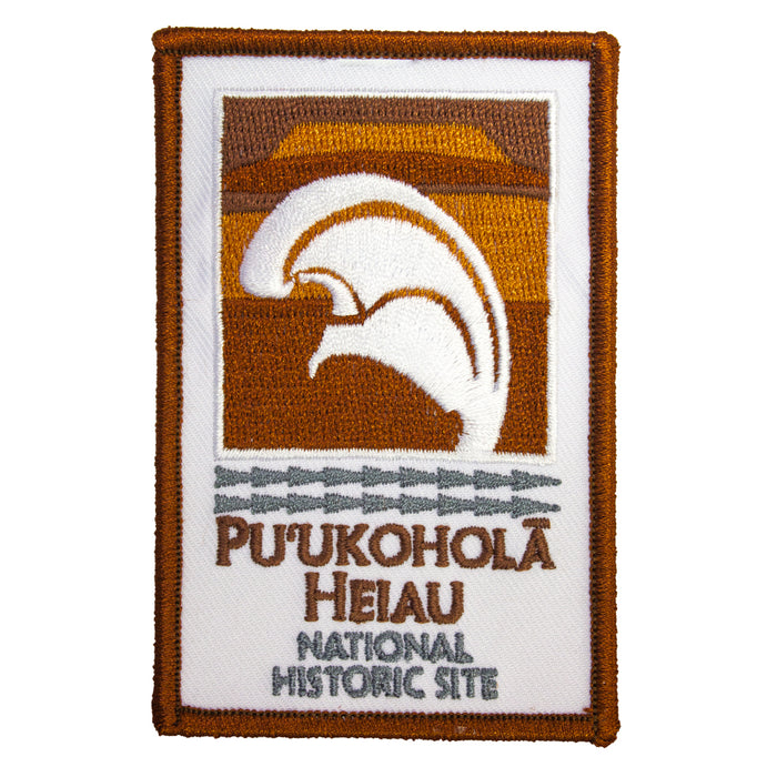 Patch: Puʻukoholā Heiau National Historic Site New Logo