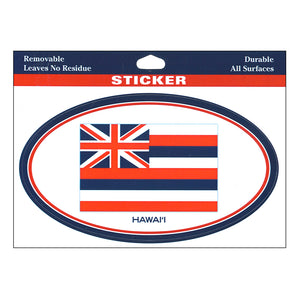 Sticker: Ka Hae Hawaiʻi: The Hawaiian Flag