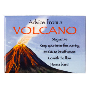 Magnet: Advice From a Volcano