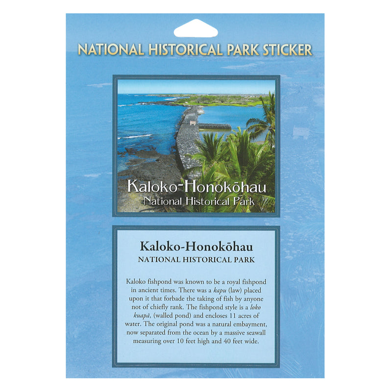 Kaloko-Honokōnau National Historical Park Passport Sticker