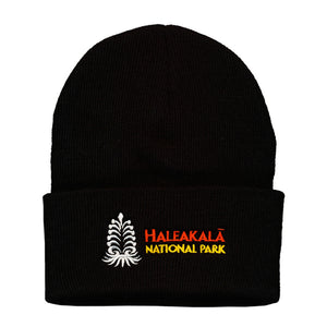 Beanie: Thinsulate Flex Haleakalā National Park Logo