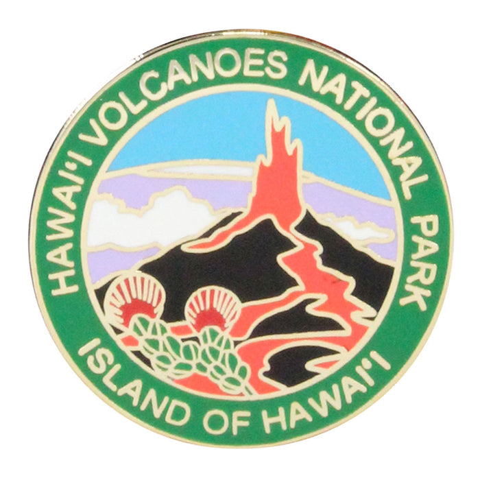 Lapel Pin: Hawai'i Volcanoes National Park