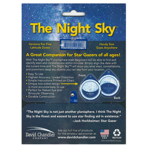 Map: The Night Sky: Star Finder (Large)