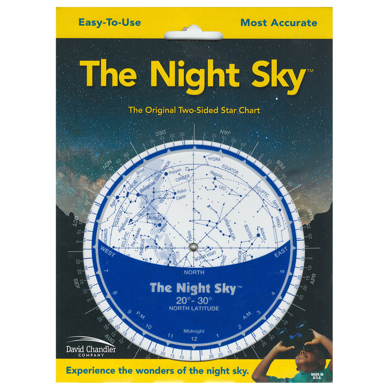 Map: The Night Sky: Star Finder