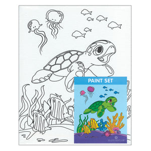 Honu Canvas Paint Set
