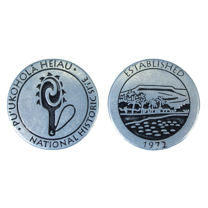 Token: Puʻukoholā Heiau National Historic Site with Lei o Mano