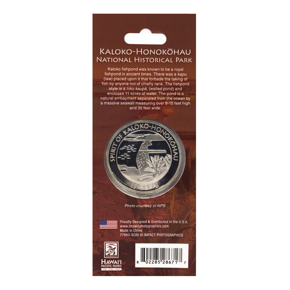 Collectible Coin Kaloko-Honokōhau National Historical Park