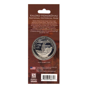 Collectible Coin: Kaloko-Honokōhau National Historical Park