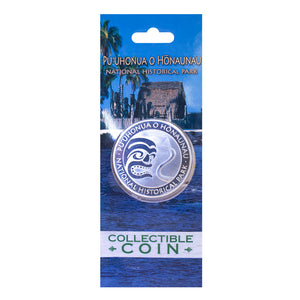 Collectible Coin: Puʻuhonua o Hōnaunau National Historical Park