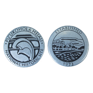Token: Puʻukoholā Heiau National Historic Site with Mahiole