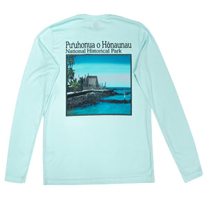 Puʻuhonua o Hōnaunau National Historical Park Long Sleeve Sun Shirt