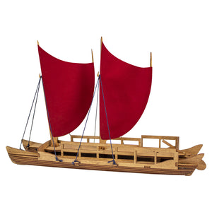 Waʻa Kaulua: Double-Hulled Voyaging Canoe Kit