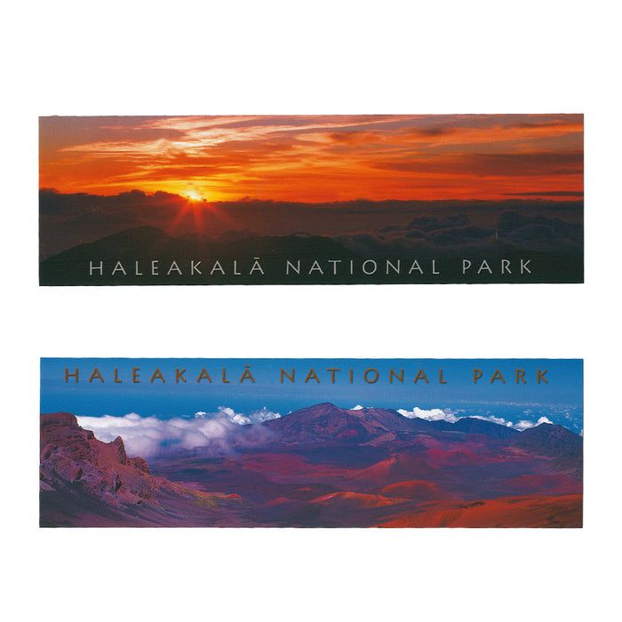 2 Pack Bookmark: Haleakalā National Park Summit Views