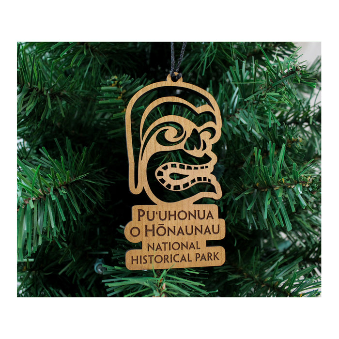 Puʻuhonua o Hōnaunau National Historical Park Wood Ornament