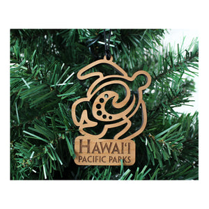 Hawaiʻi Pacific Parks Association Wood Ornament