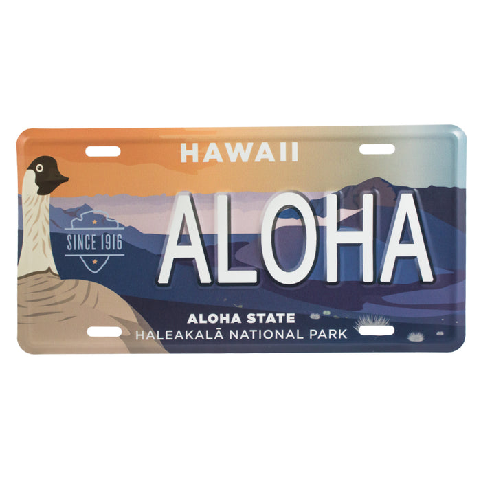 Haleakalā National Park Collectible License Plate