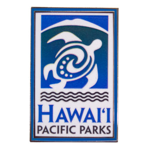 Lapel Pin: Hawaiʻi Pacific Parks Association Logo