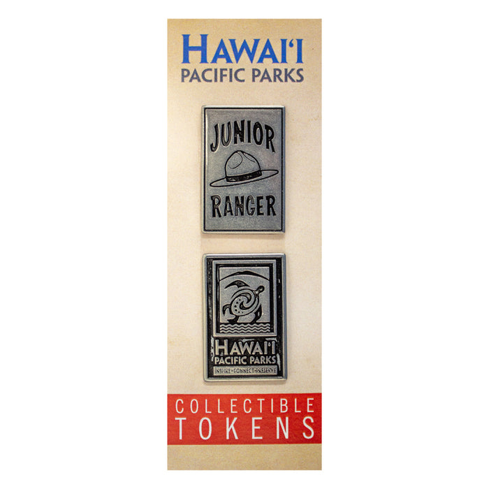 Token Set: Hawaiʻi Pacific Parks Association & Junior Ranger